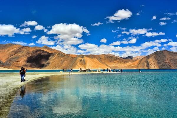 Самые красивые места Индии с фото и описанием - Озеро Пангонг-Цо