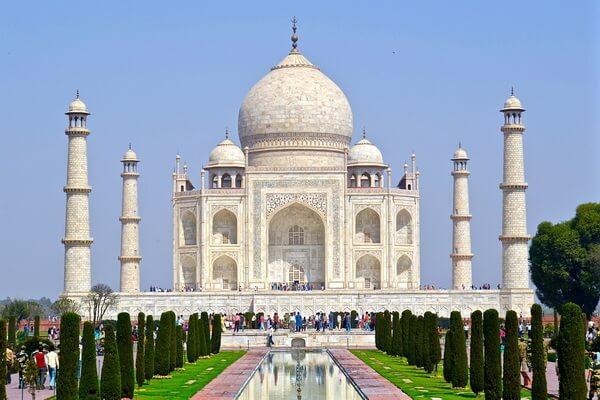 Самые красивые места Индии с фото и описанием - Тадж-Махал