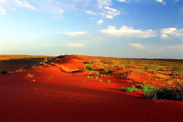 Самые красивые пустыни мира с фото и описанием - Пустыня Симпсон в АвстралииСамые красивые пустыни мира с фото и описанием - Пустыня Симпсон, Австралия