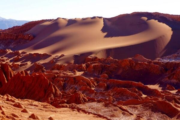 Самые красивые пустыни мира с фото и описанием - Пустыня Симпсон в АвстралииСамые красивые пустыни мира с фото и описанием - Атакама в Чили