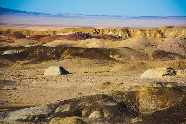 Самые красивые пустыни мира с фото и описанием - Пустыня Гоби в Центральной Азии
