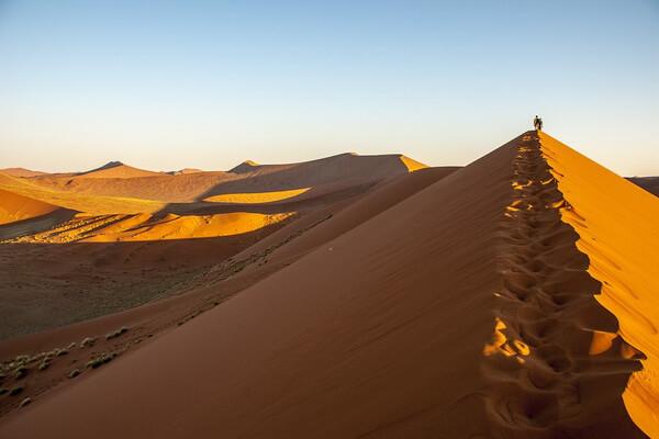 Самые красивые пустыни мира с фото и описанием - Пустыня Намиб в Намибии