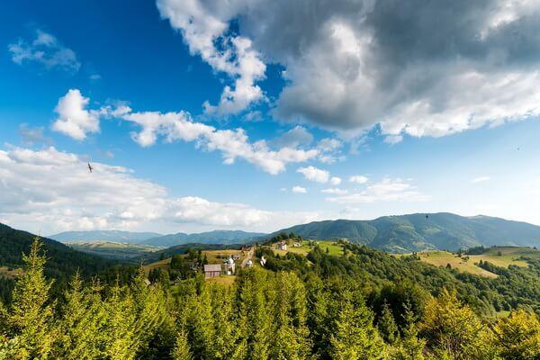 Самые протяжённые горные хребты Европы с фото и описанием - Карпаты (1500 км)