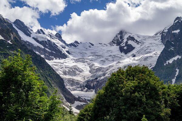 Самые протяжённые горные хребты Европы с фото и описанием - Кавказские горы
