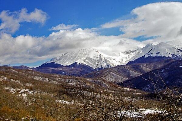 Самые протяжённые горные хребты Европы с фото и описанием - Апеннинские горы (Апеннины)
