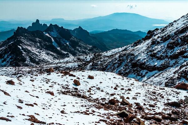 Самые высокие горы в Африке - Гора Кения