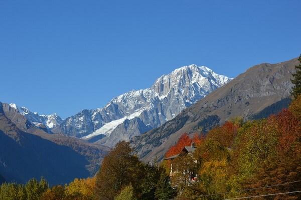 Самая высокая гора в Италии - Монблан