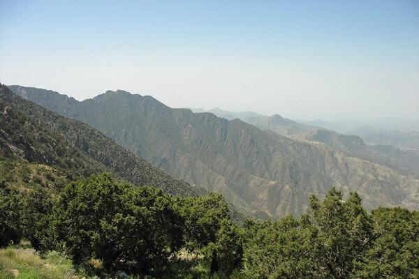 Гора Сауда - самая высокая горная вершина Саудовской Аравии