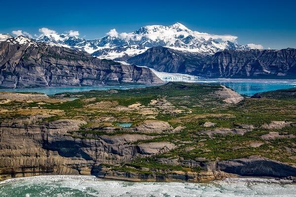 Самые высокие горы Северной Америки с фото и описанием - Гора Святого Ильи