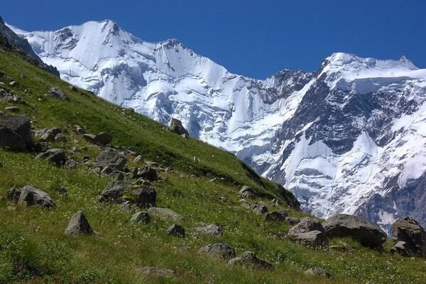 Джангитау - пятая самая высокая гора на Кавказе