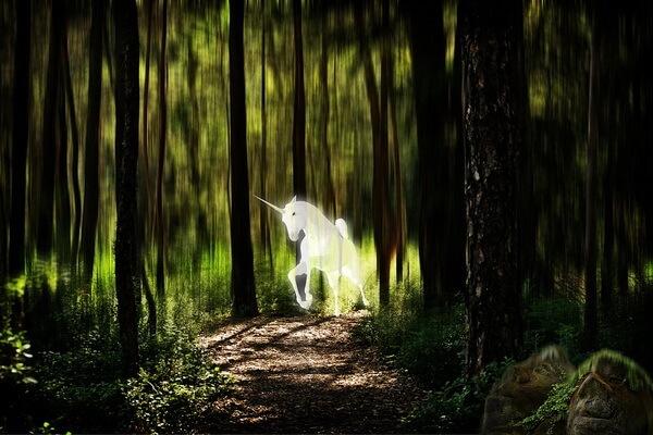 Единорог - национальное животное Шотландии