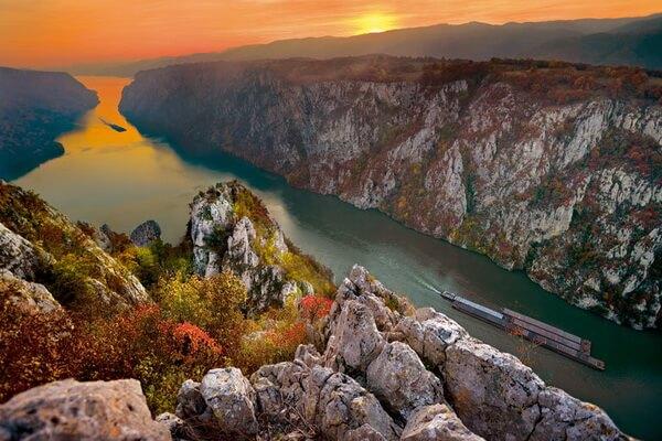 Природные достопримечательности Сербии с фото и описанием - Железные Ворота (Джердап)