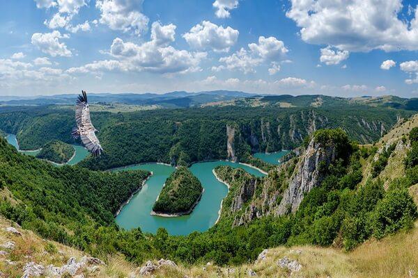 Природные достопримечательности Сербии с фото и описанием - Река и каньон Увац