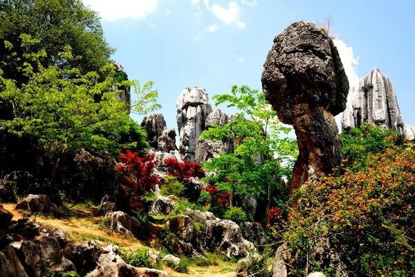 Каменный лес Шилинь - наиболее интересные места