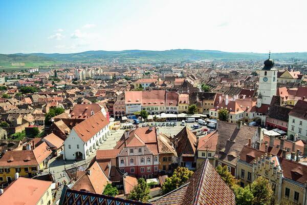 Достопримечательности Трансильвании - Город Сибиу
