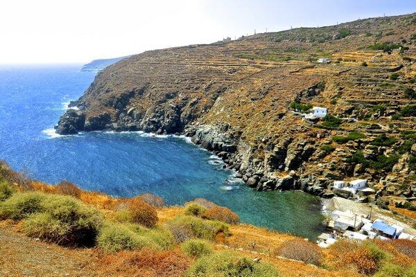 История и легенды острова Сифнос в Греции