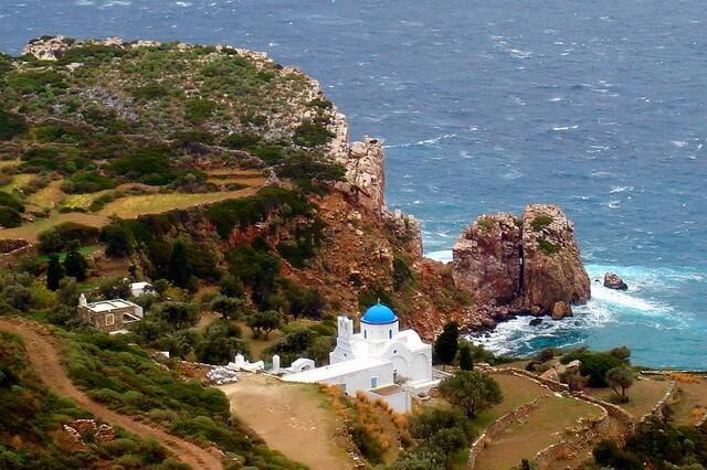 Остров Сифнос в Греции