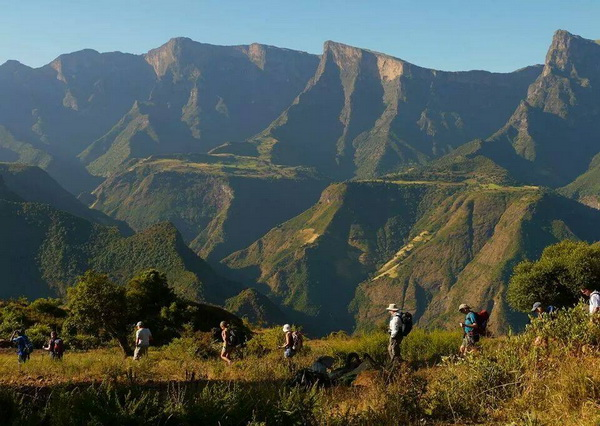 Треккинг в Сыменских горах Эфиопии