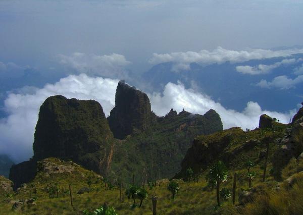 Горы Сымен в Эфиопии