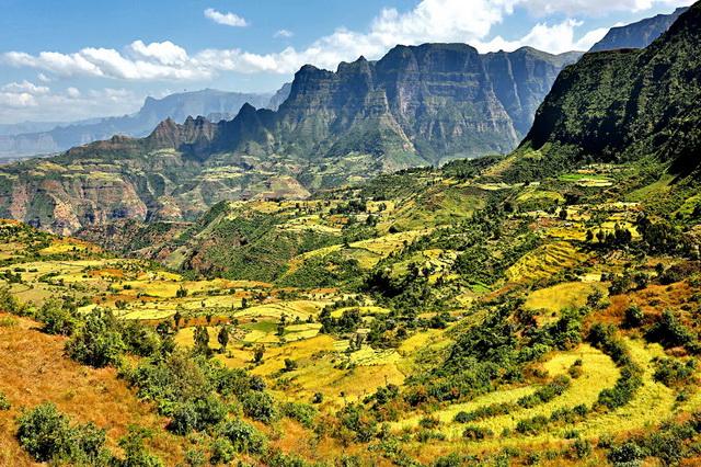 Сыменские горы Эфиопии