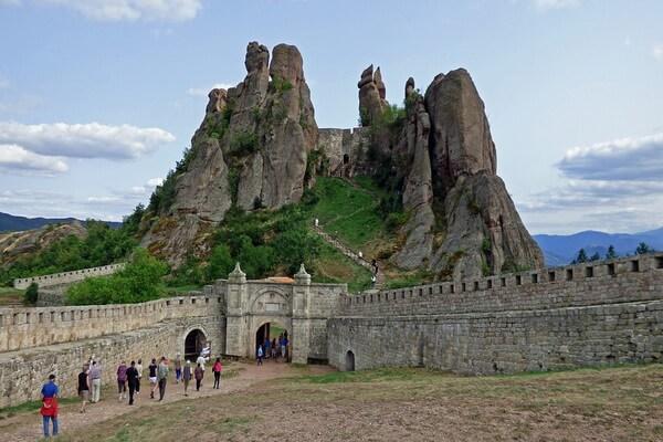 Белоградчикские скалы в Болгарии