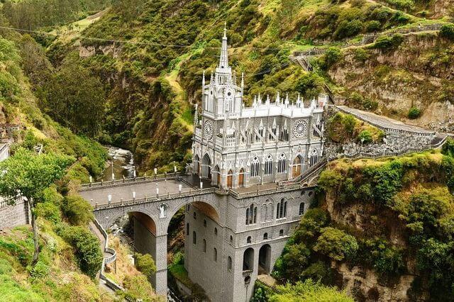 Церковь Лас-Лахас в Колумбии - история и особенности архитектуры собора