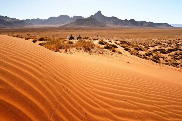 Дюны Соссусфлей в Намибии