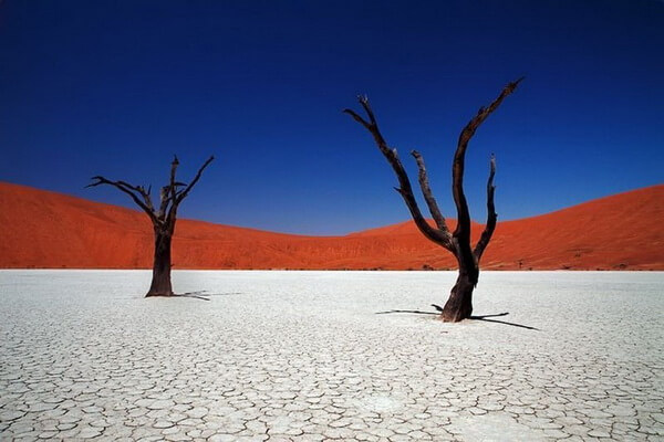 Плато Соссусфлей в Намибии