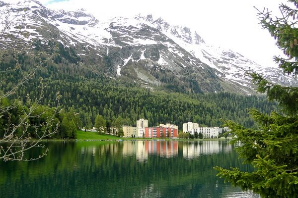 Самые красивые места Европы - Санкт-Мориц в Швейцарии