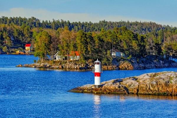 Самые красивые места Европы - Стокгольмский архипелаг в Швеции