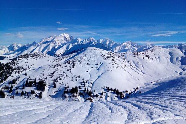 Самая высокая гора в Альпах - Монблан