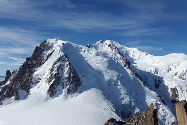 Монблан – самая высокая гора в Альпах