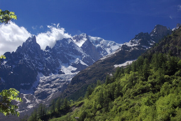 Самые высокие горы в Альпах - Монте-Роза