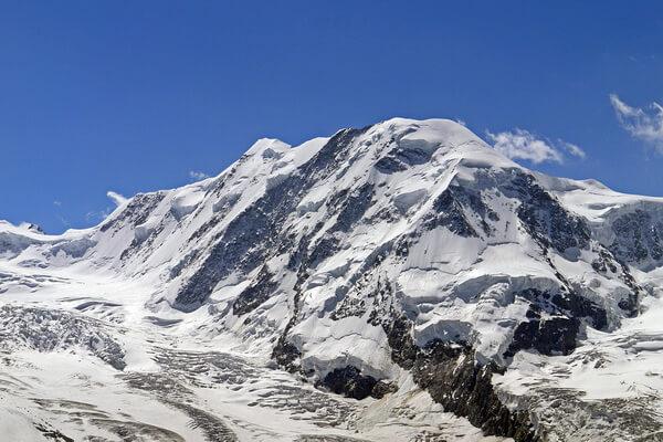 Горы Монте-Роза - вторые наивысшие горы после Монблана в Альпах