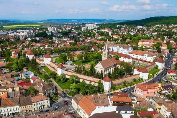 Достопримечательности Трансильвании - Город Тыргу-Муреш