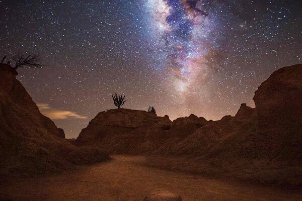 Пустыня Татакоа в Колумбии - идеальное место для наблюдения за звёздным небом
