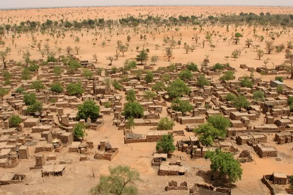 Древний город Томбукту в Мали