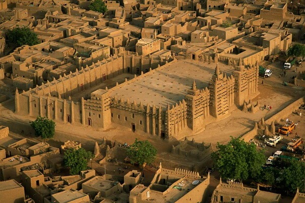 Город Томбукту в Мали и его древняя архитектура