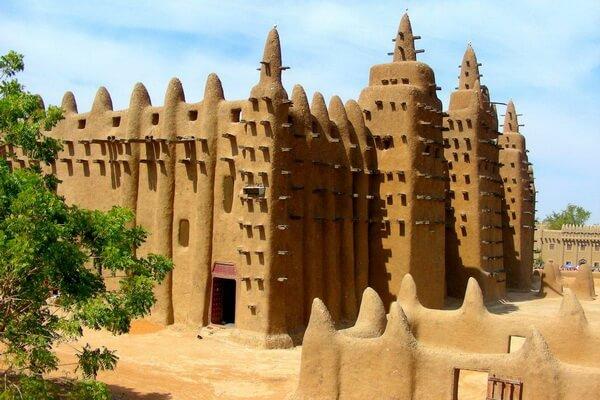Древние мечети Томбукту в Мали
