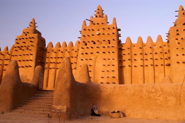 Средневековый город Томбукту в Мали