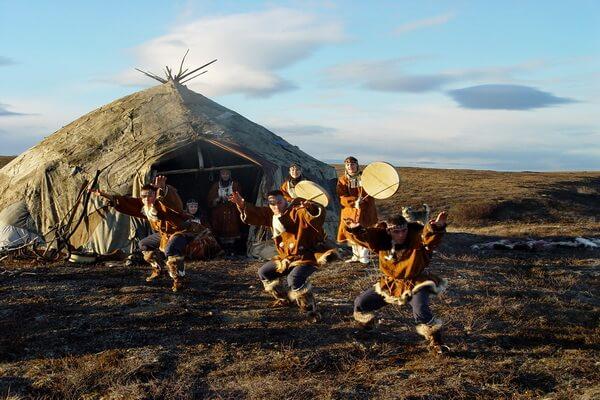 Старинные обычаи эскимосов