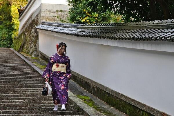 Традиционная японская одежда - Кимоно и его разновидности