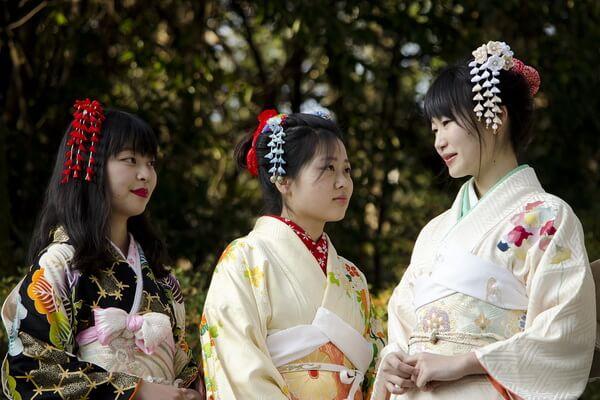 Традиционная японская одежда - Кимоно