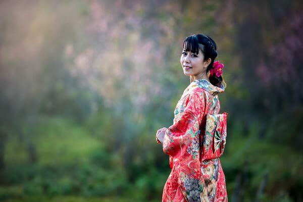 Традиционная японская одежда - Пояс оби