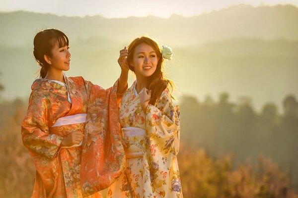 Традиционная японская одежда - Фурисодэ