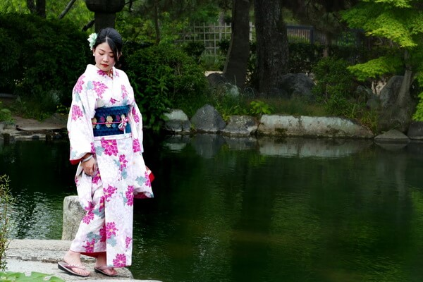 Традиционная японская одежда - Немаки