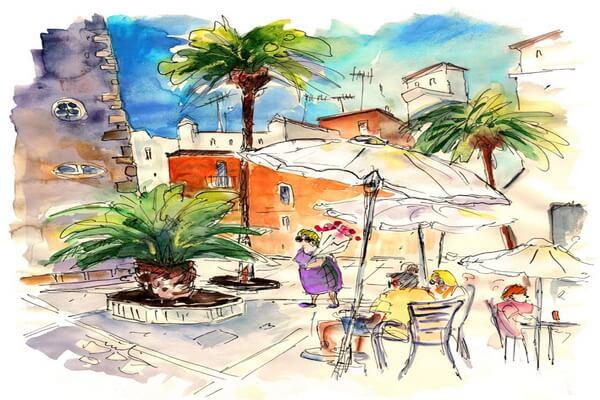 Тревел-скетчинг - красивые зарисовки из путешествий