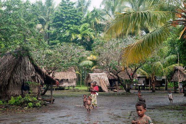 Быт племени тробрианцев в Папуа-Новой Гвинеи