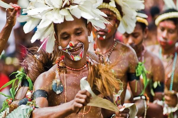 Тробрианцы Папауа-Новой Гвинеи