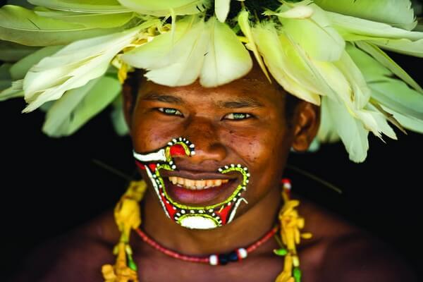 Мальчик из племени тробрианцев